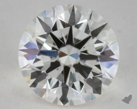 2.32 Carat G-VS1 Ideal Cut Round Diamond