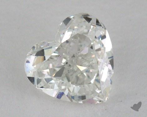 1.50 Carat H-SI1 Heart Shaped  Diamond