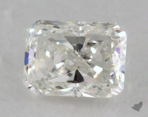0.70 Carat G-IF Radiant Cut Diamond
