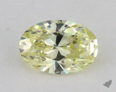 1.01 Carat  yellow-VS2 Oval Cut Diamond