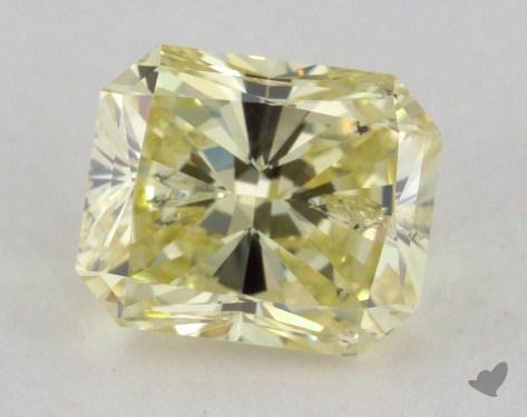 0.70 Carat  yellow-I1 Radiant Cut Diamond