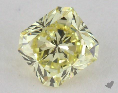 0.96 Carat  yellow-SI2 Radiant Cut Diamond