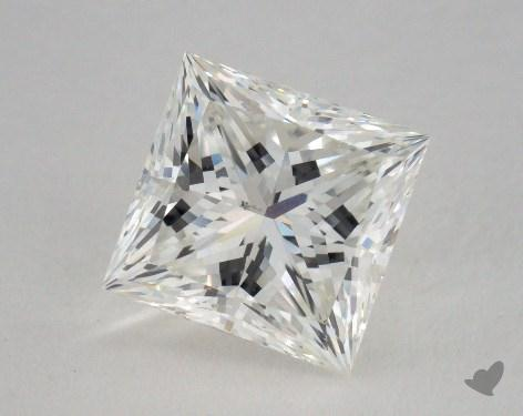 2.12 Carat I-SI1 Ideal Cut Princess Diamond