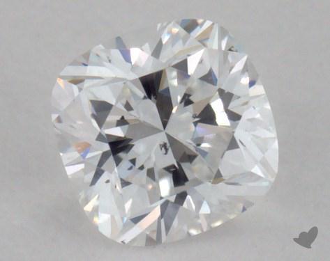 0.28 Carat D-SI1 Cushion Cut Diamond
