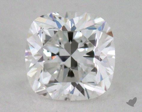 0.49 Carat E-SI1 Cushion Cut Diamond