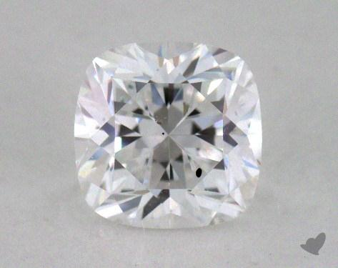 0.51 Carat D-SI2 Cushion Cut  Diamond