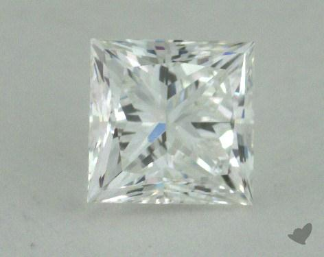 0.67 Carat E-VS2 Ideal Cut Princess Diamond