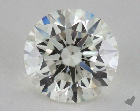 1.51 Carat J-SI1 Excellent Cut Round Diamond