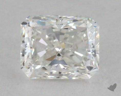 0.81 Carat H-VS2 Radiant Cut Diamond