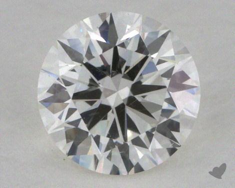 0.71 Carat I-SI1 Excellent Cut Round Diamond