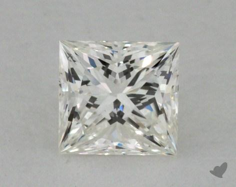 0.63 Carat I-VVS2 Very Good Cut Princess Diamond
