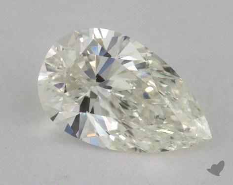 1.14 Carat K-SI1 Pear Shape Diamond