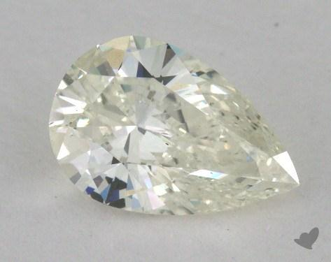 1.01 Carat K-VS2 Pear Shape Diamond