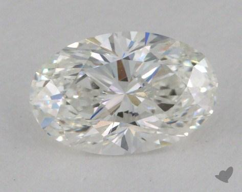 1.03 Carat F-SI2 Oval Cut Diamond