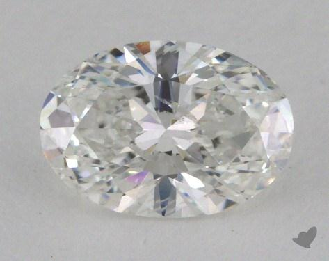 1.06 Carat F-I1 Oval Cut Diamond