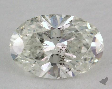 1.50 Carat I-I1 Oval Cut Diamond