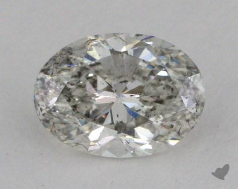1.01 Carat H-I1 Oval Cut  Diamond