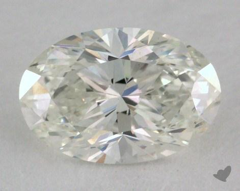 1.03 Carat H-SI1 Oval Cut Diamond