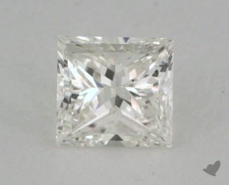 0.51 Carat I-SI1 Excellent Cut Princess Diamond
