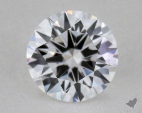 0.52 Carat E-IF Very Good Cut Round Diamond