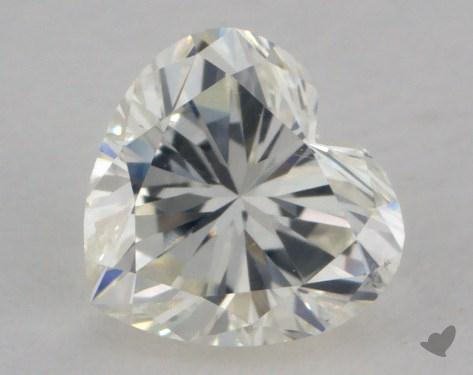 0.58 Carat J-VS2 Heart Shape Diamond