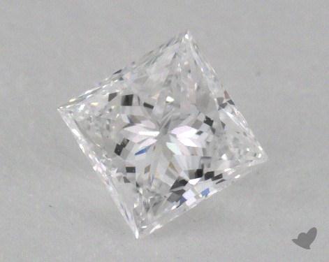 0.43 Carat D-VS2 Good Cut Princess Diamond