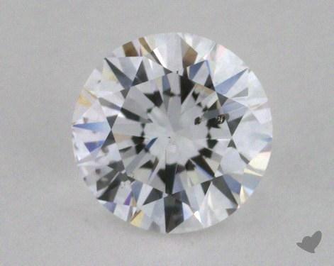 0.70 Carat D-SI2 Good Cut Round Diamond