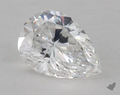 0.93 Carat D-SI1 Pear Shape Diamond