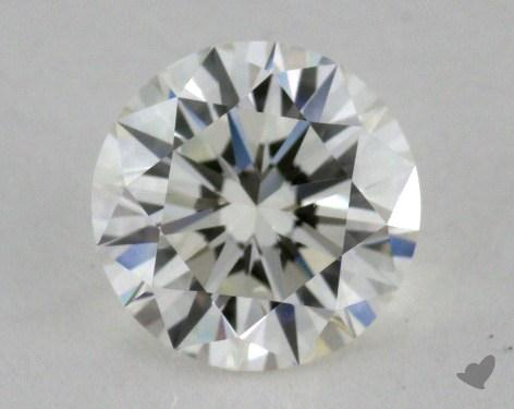 0.83 Carat I-VVS2 Excellent Cut Round Diamond