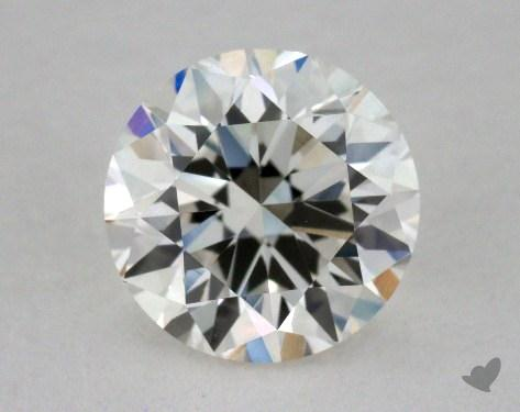 0.91 Carat I-VVS2 Very Good Cut Round Diamond