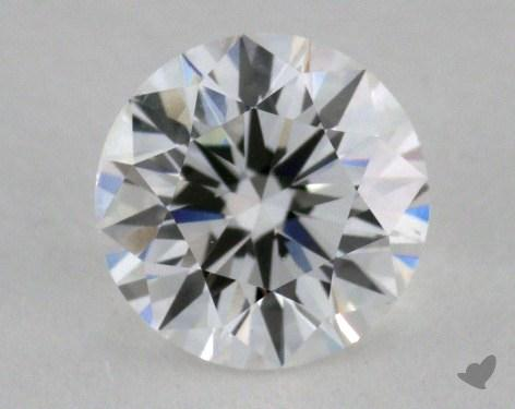 0.90 Carat F-SI1 Very Good Cut Round Diamond