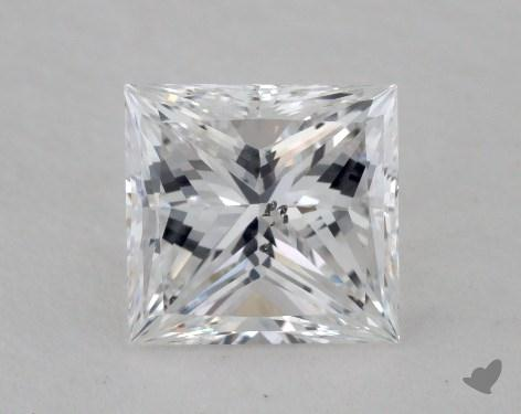 1.22 Carat E-SI2 Very Good Cut Princess Diamond