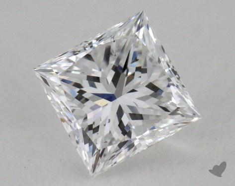 1.15 Carat D-VS2 Very Good Cut Princess Diamond