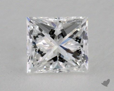 1.37 Carat D-VS2 Good Cut Princess Diamond