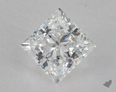 1.90 Carat F-VS1 Very Good Cut Princess Diamond