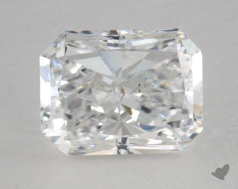 1.70 Carat D-VS2 Radiant Cut Diamond
