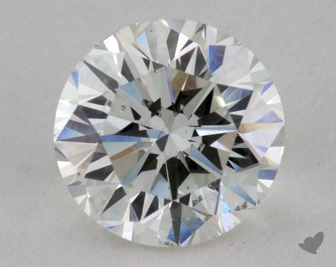 1.87 Carat H-SI2 Very Good Cut Round Diamond