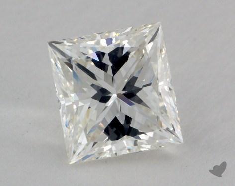 2.43 Carat H-VVS2 Very Good Cut Princess Diamond