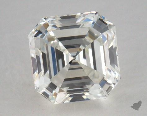 1.66 Carat H-SI1 Asscher Cut Diamond