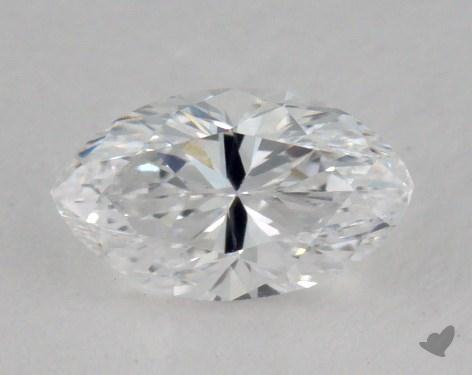 0.51 Carat D-SI1 Marquise Cut Diamond