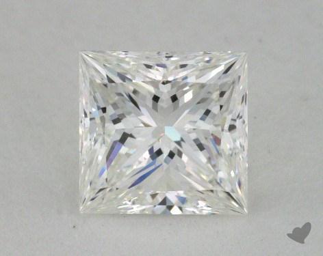 1.01 Carat G-VVS1 Ideal Cut Princess Diamond