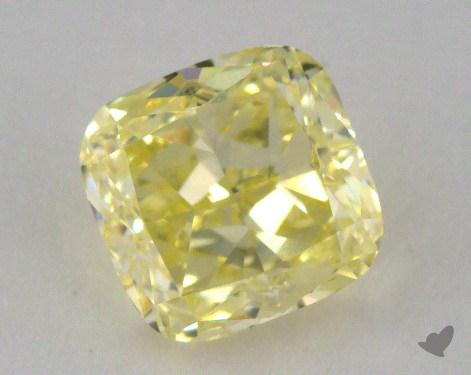 1.06 Carat fancy yellow-VVS1 Cushion Cut Diamond
