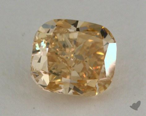 1.05 Carat fancy brownish yellow-VS2 Cushion Cut Diamond