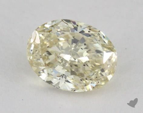 1.27 Carat fancy light brownish yellow Oval Cut Diamond