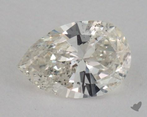 0.82 Carat I-I1 Pear Shaped  Diamond
