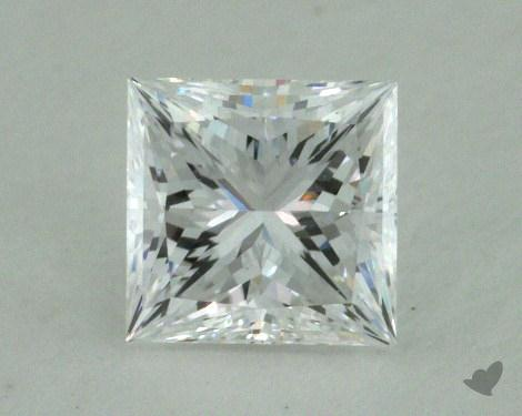 0.60 Carat D-VVS2 Ideal Cut Princess Diamond