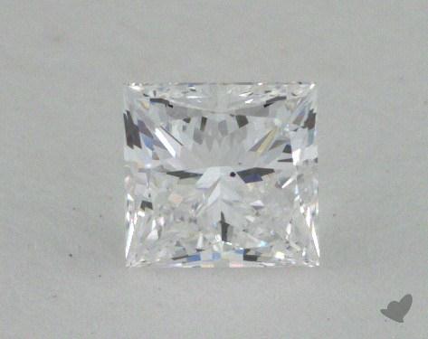 0.52 Carat D-SI1 Ideal Cut Princess Diamond