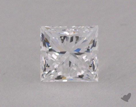 0.53 Carat D-VVS2 Princess Cut  Diamond