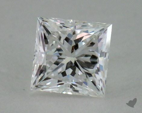 0.57 Carat E-SI1 Ideal Cut Princess Diamond