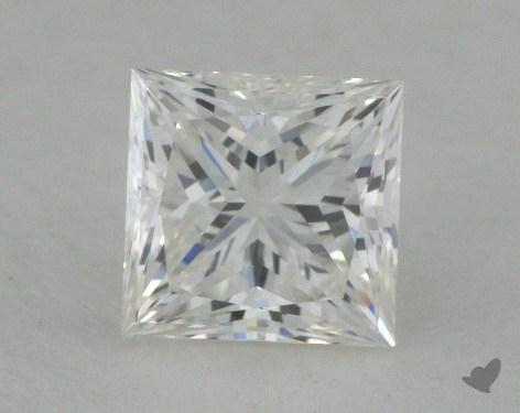 0.57 Carat G-VVS2 Ideal Cut Princess Diamond